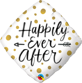Μπαλόνι Foil Happily Ever After Dots