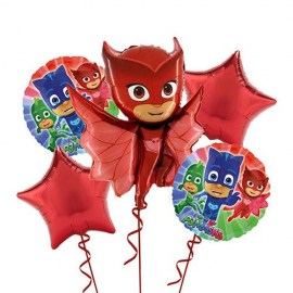 Owlette Pj Masks Balloon Kit - 5τμχ.