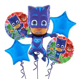 Catboy Pj Masks Balloon Kit - 5τμχ.