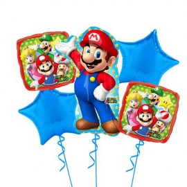 Super Mario Balloon Kit - 5τμχ.